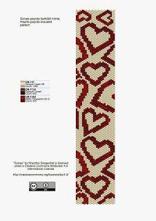KIKI beads: please peyote bracelet pattern - pattern