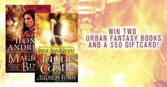 Win #Books by #JayneCastle & #IlonaAndrews + a $50 #GiftCard in our latest #UrbanFantasy #Giveaway!