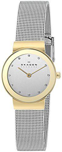 Skagen Women's 358SGSCD Freja Quartz Two-Hand Stainless Steel Silver Watch