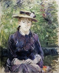 Portrait of Paule Gobillard (Berthe Morisot - 1884)