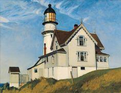 Edward Hopper - Captain Upton's House, 1927.