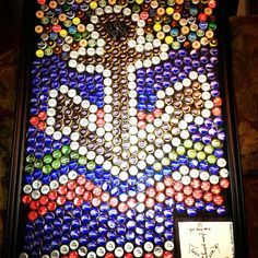 My beer bottle cap creation