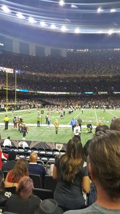 New Orleans overnight trip  Last Monday (September 26th) we ventured off to New Orleans for the Saints vs. Falcons football game. Its my husbands favorite game to attend each year and this time we were given some free tickets! Bonus! We werent planning to attend any games this year since well be heading off to Italy shortly so we decided to try to save a little bit by not going to a Saints game this year butluckily with those free tickets we were able to take a quick overnight trip.    We…