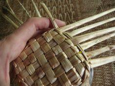 Лилейник для плетения. Basket Weaving, Crochet, Purses And Bags, Baskets, Vase, Traditional, Abstract, Crafts, Design