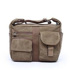 34e1404b93 Canvas Newsboy bag for men Canvas Crossbody Bag