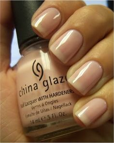 Chloe's Nails: China Glaze Diva Bride    been looking for some sheer but not too sheer nail polish