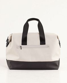 Lululemon Carryall: Once again, Lululemon's thought of everything. This roomy Everyday Gym Bag ($98) — which comes with a shoe bag and pouch for wet clothes — may become your most-used gym and travel accessory.