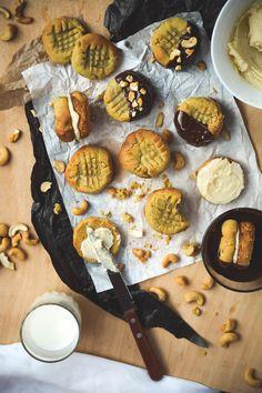 Tahini Cashew Nutter Butter Sandwich Cookies (3)