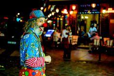 Clown in Paris Paris, Montmartre Paris, Paris France