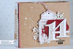 Endlich ist es fertig, mein Weihnachtstagebuch. Ein weiteres Projekt aus dem Onlinekurs Maximum von Janna Werner. Bei dem Onlinekurs haben wir das Kartenset Für viele Anlässe benutzt und das Letzte, wirklich Allerletzte rausgeholt was geht, denn wir haben sogar die Verpackung von dem Kartenset verwertet und daraus dieses Album gebastelt. Ich habe aus meinem Album...