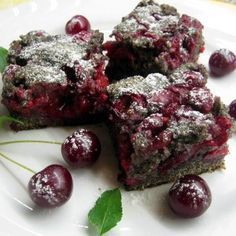 Mákos-meggyes sütemény Receptek a Mindmegette. Brownie Recipes, Cake Recipes, Dessert Recipes, Clean Eating Sweets, Best Party Food, Hungarian Recipes, Healthy Sweets, Sweet Cakes, Winter Food