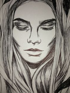 Biro Art, Drawings, Sketches, Drawing, Portrait, Resim, Draw