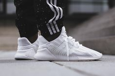 35ec0301c58b An On-Feet Look at the adidas ClimaCool 02 17 in White   Black