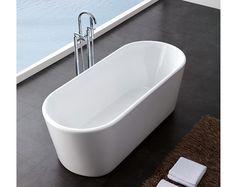 Zurich Small Freestanding Bath | Freestanding Baths | Splashdirect - 1600mm x 690mm