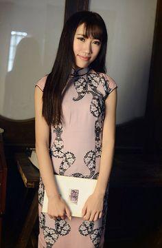Summer Retro Sleeveless Linen Chinese Dress / by RockRollRefresh, $68.00