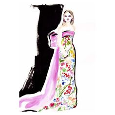 fashion illustration-Louise O'Keeffe