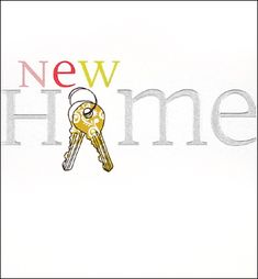 New Home Card - Caroline Gardner - 'New Home'