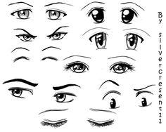 oči kreslené anime - Hledat Googlem