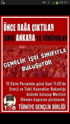 TGB ve İşçi Sınıfı beraber DİRENİYOR. BOYUN EĞME TÜRKİYE !!!
