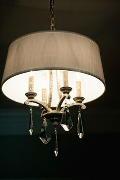 Check out this beautiful ceiling light fixture! #designideas