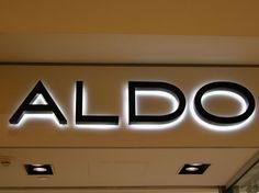 sign, backlit letters   Detail information of Painted Stainless Steel Backlit Letters :
