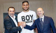 AC Milan confirm new deal with Gianluigi Donnarumma Soccer Memes, Football Memes, Mino Raiola, Online Match, Cricket Bat, Transfer Window, Transfer News, Comics Story, Ac Milan