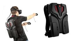 The 'VR One' from MSI debuts at the Tokyo Game Show this week. The backpack…