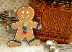 144 Best Gingerbread Men Crafts Images Christmas Ornaments Diy