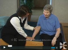 Video - Jan Davis demonstrates three core treatment principles, which provide the basis for preparing all stroke survivors for functional recovery.