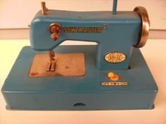 Vintage Toy Sewing Machine -  Sew Master KayAnEE