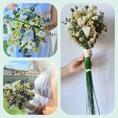 ¿Quieres saber como trabajamos con las novias? | Flores Akita Glass Vase, Akita, Decor, Cascade Bouquet, Floral Bouquets, Calla Lilies, Wedding Bouquets, Creativity, Boyfriends