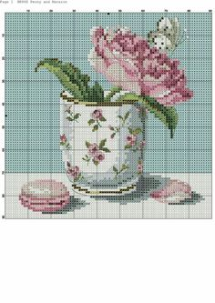 lovely x stitch Cross Stitch Kitchen, Just Cross Stitch, Cross Stitch Needles, Modern Cross Stitch, Cross Stitch Flowers, Counted Cross Stitch Patterns, Cross Stitch Charts, Cross Stitch Designs, Cross Stitch Embroidery
