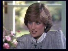 July 28, 1981: Lady Diana Spencer in the Summer House Buckingham Palace being interviewed before her wedding.