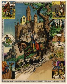 BRUDE'S WORLD : Prince Valiant by Hal Foster