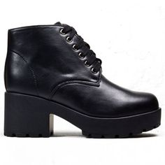 3b1a18415 Picture of Chunky Lace Up Boot - JBW2 BLK  korkys