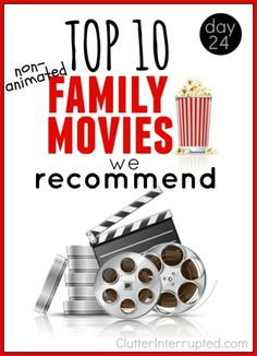 Do you have a hard time finding a good movie your family can enjoy together? Check out the movies on our list of family favorites. Pick one or two and grab the popcorn.