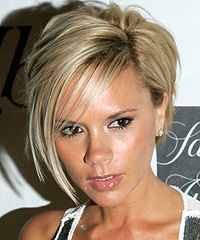 Victoria Beckham bob hairstyle - I think this is what I'm getting....a little more exciting than a plain angled bob.