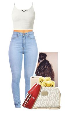 """Untitled #1102"" by tonibalogni ❤ liked on Polyvore featuring Juicy Couture, Michael Kors and TOMS"