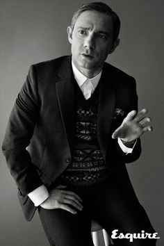 The Mod Man of Middle Earth - Martin Freeman - Esquire Magazine