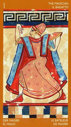 The Magician - Etruscan Tarot