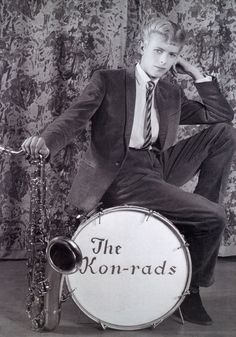 "semioticapocalypse: "" Roy Ainsworth. David Bowie. Publicity photograph for The Kon-rads. 1963 [::SemAp FB 