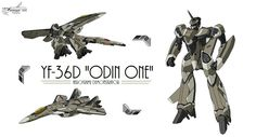 "YF-36 Thor ""Odin One"" Advanced Variable Fighter Prototype"