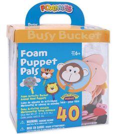 Darice Foam Kit - 40PK/Puppet Pals