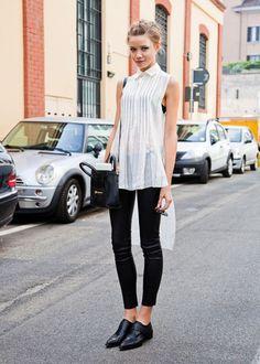 Dear Fashion Diaries: STREET STYLE: Model off duty
