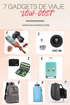 Gadgets de viaje a precios bajos | Hashtag #Viajeros