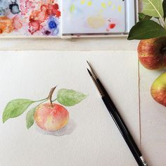 Trowel and Paintbrush: An Apple Story