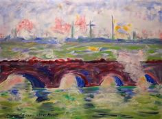 After Monet - Waterloo Bridge
