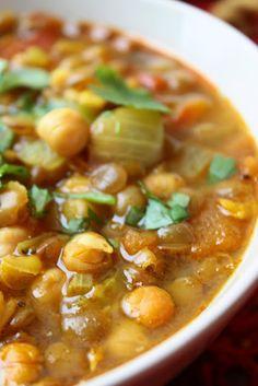 Harira - Moroccan Lentil Soup