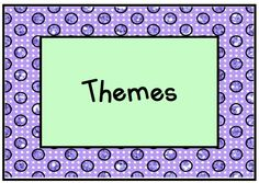 Lots of activities and a KinderLit book in each of these themes!  (background paper by Glitter Meets Glue; font by Kimberly Geswein Fonts)