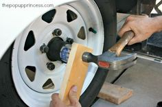 Greasing Pop Up Camper Bearings